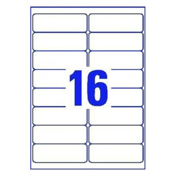 16-Up Labels on A4 (Label L7162 Template)