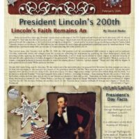 2-Page Historical Newsletter