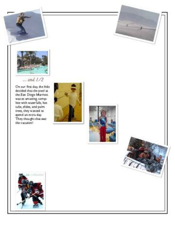 3-Page Family Newsletter Page Two