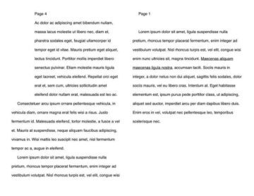 4-Page Text-Based Booklet