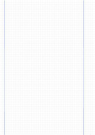 Blank Graphing Paper with Dual Margins Right