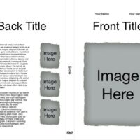 DVD Case Insert with Image Placeholders