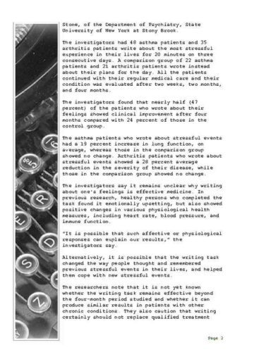 Daily Personal Journal with Typewriter Edging Page Two