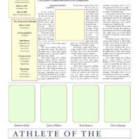 Detailed Mock Newspaper