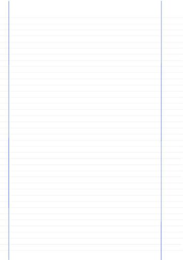 Dual-Margin Lined Notebook Paper