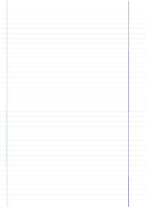 Dual-Margin Lined Notebook Paper Right