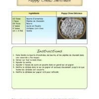 Full-Page Recipe with Pastel Accents