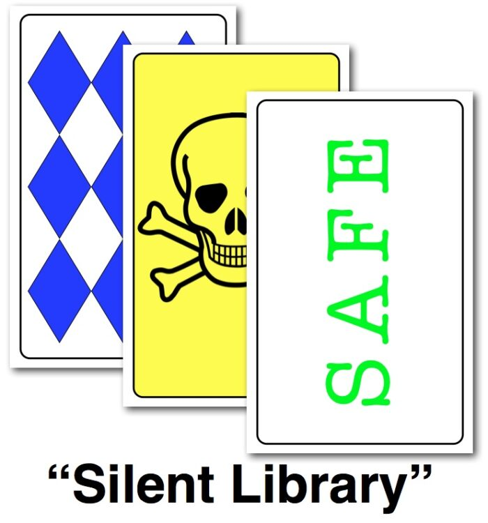 Game Cards for Silent Library