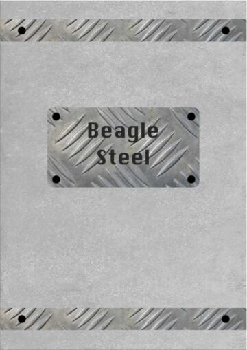 Gray Steel Poster