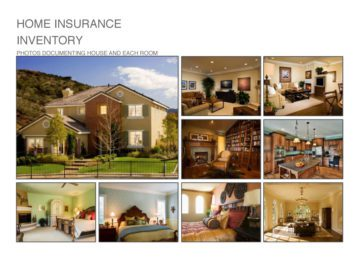 Home Insurance Inventory Front