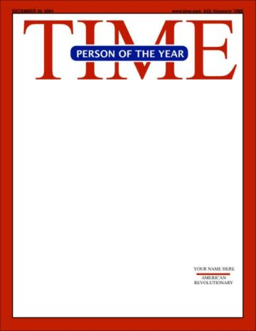 Mock TIME Person of the Year Cover Version Two