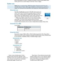 Technical Report in Blue