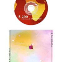 iTunes Gift Certificate for CD Case